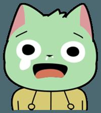 Midori no Neko sticker #12805798