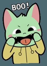 Midori no Neko sticker #12805799