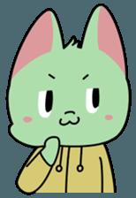 Midori no Neko sticker #12805800