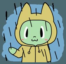 Midori no Neko sticker #12805802