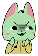 Midori no Neko sticker #12805804