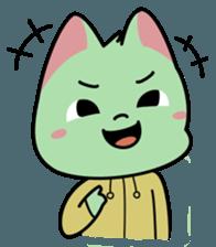 Midori no Neko sticker #12805805