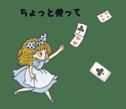 Fantasy Forever Alice sticker #12808456