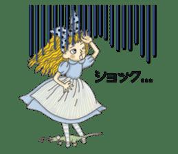 Fantasy Forever Alice sticker #12808460