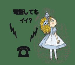 Fantasy Forever Alice sticker #12808466