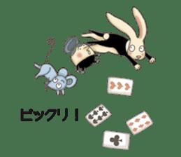 Fantasy Forever Alice sticker #12808469