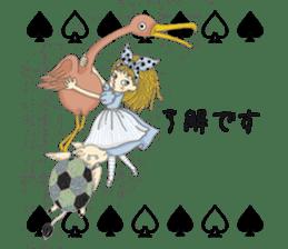 Fantasy Forever Alice sticker #12808470