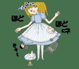 Fantasy Forever Alice sticker #12808473