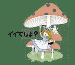 Fantasy Forever Alice sticker #12808478