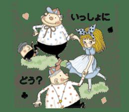 Fantasy Forever Alice sticker #12808480