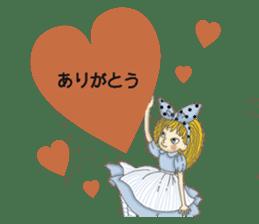 Fantasy Forever Alice sticker #12808488