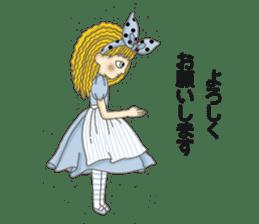 Fantasy Forever Alice sticker #12808490