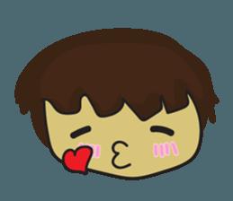 Nu cha Q Emotion sticker #12811223