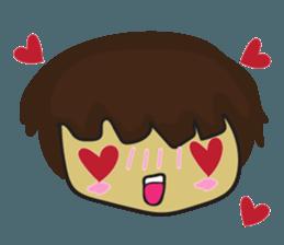Nu cha Q Emotion sticker #12811225