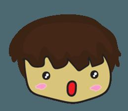 Nu cha Q Emotion sticker #12811226