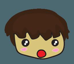 Nu cha Q Emotion sticker #12811227