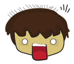 Nu cha Q Emotion sticker #12811229
