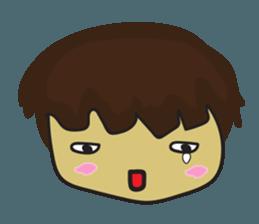 Nu cha Q Emotion sticker #12811230