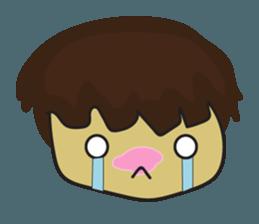 Nu cha Q Emotion sticker #12811232