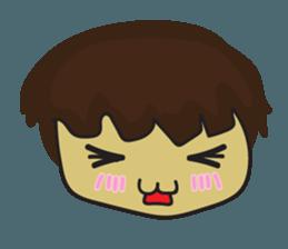 Nu cha Q Emotion sticker #12811237