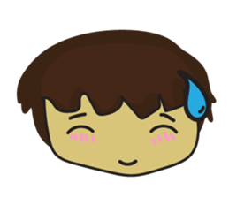 Nu cha Q Emotion sticker #12811238