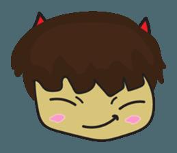 Nu cha Q Emotion sticker #12811244