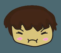 Nu cha Q Emotion sticker #12811246