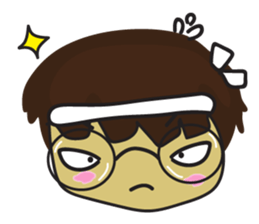 Nu cha Q Emotion sticker #12811250