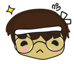 Nu cha Q Emotion sticker #12811251