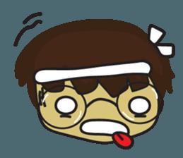 Nu cha Q Emotion sticker #12811253