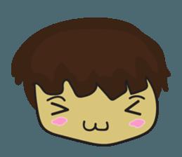 Nu cha Q Emotion sticker #12811254
