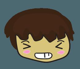 Nu cha Q Emotion sticker #12811255