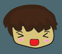 Nu cha Q Emotion sticker #12811256