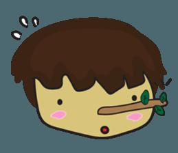 Nu cha Q Emotion sticker #12811258
