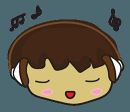 Nu cha Q Emotion sticker #12811259