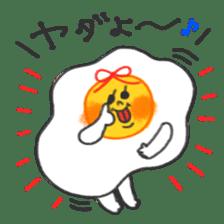 FRIED EGG sticker #12816364