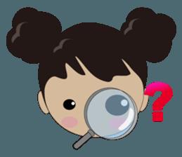 Q-ling sister sticker #12817305