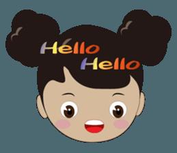Q-ling sister sticker #12817312