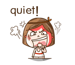 I'm a naughty girl (Eng version) sticker #12830939