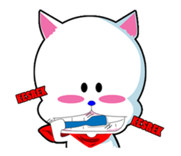 Upin the Doggy sticker #12833171