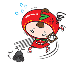 Blissful Red Apple sticker #12835663