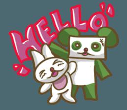 Miku and pano sticker #12839142