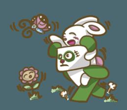 Miku and pano sticker #12839157