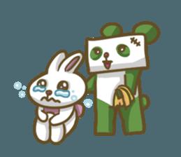 Miku and pano sticker #12839175
