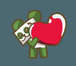 Miku and pano sticker #12839176