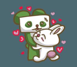 Miku and pano sticker #12839180