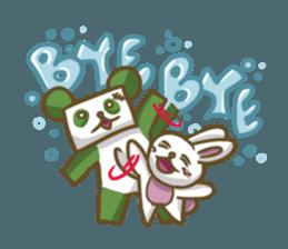 Miku and pano sticker #12839181