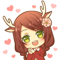 Heartwarming bambi girl
