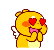 QooBee Agapi ~ ANIMATED Sticker02 sticker #12841889