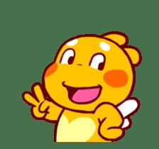 QooBee Agapi ~ ANIMATED Sticker02 sticker #12841895